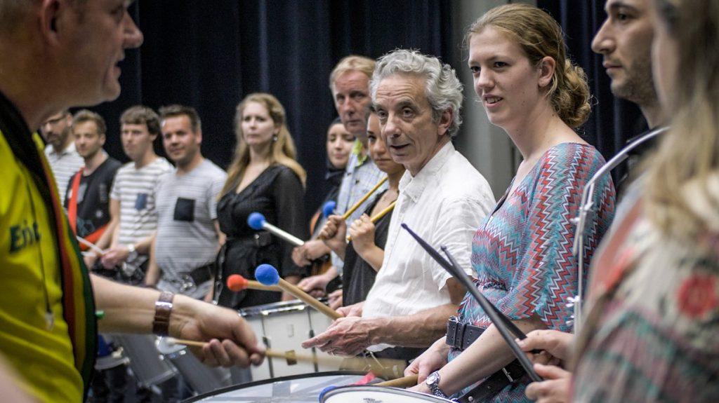 Braziliaanse percussie workshop
