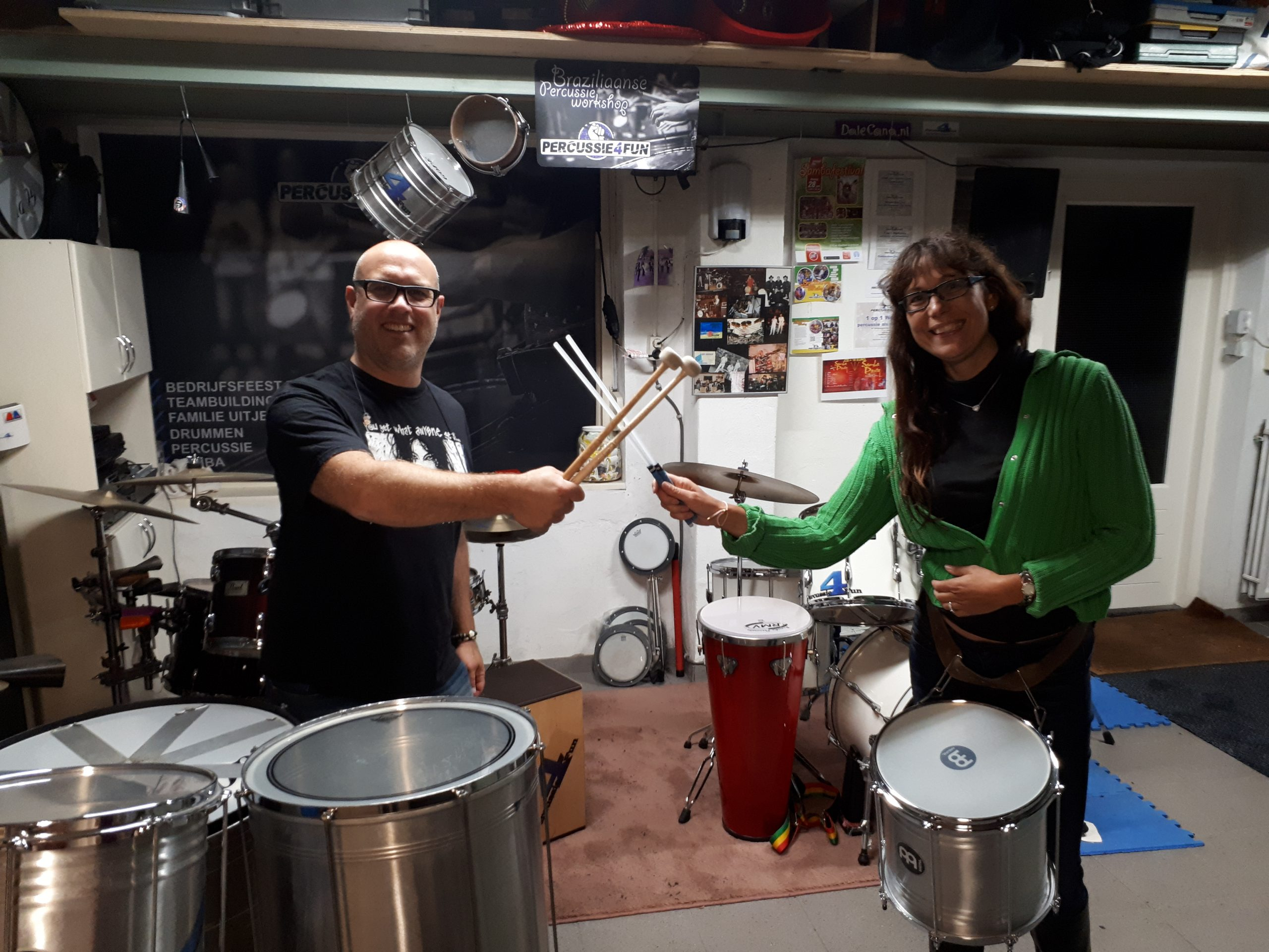 Samba workshop voor 2 personen