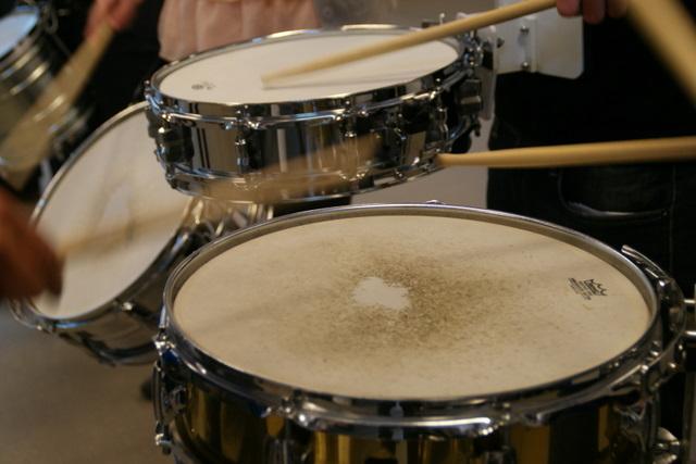 Leer snare trom spelen bij percussie4fun uit Oss