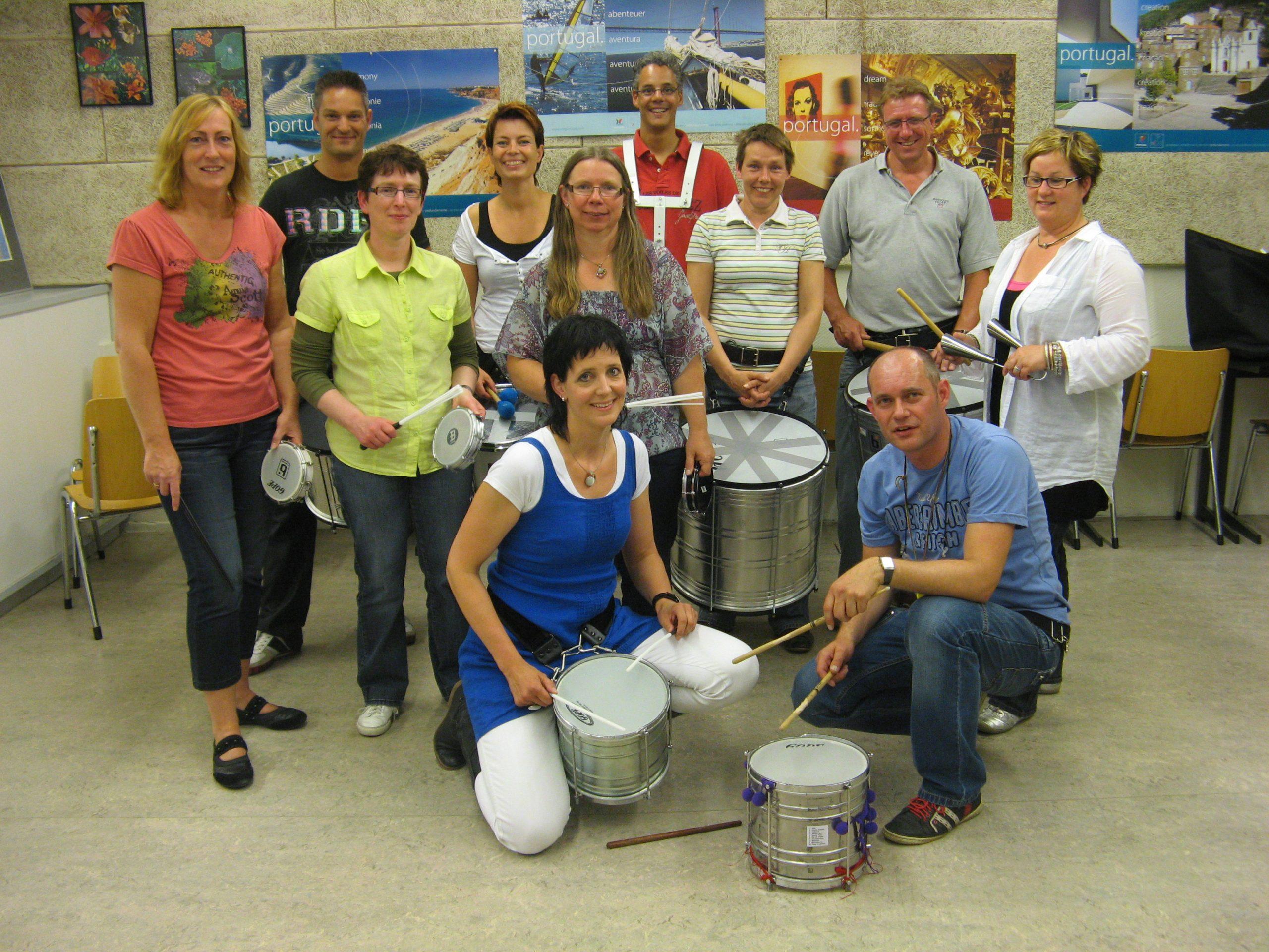 Cursus Braziliaanse Percussie in Veghel.