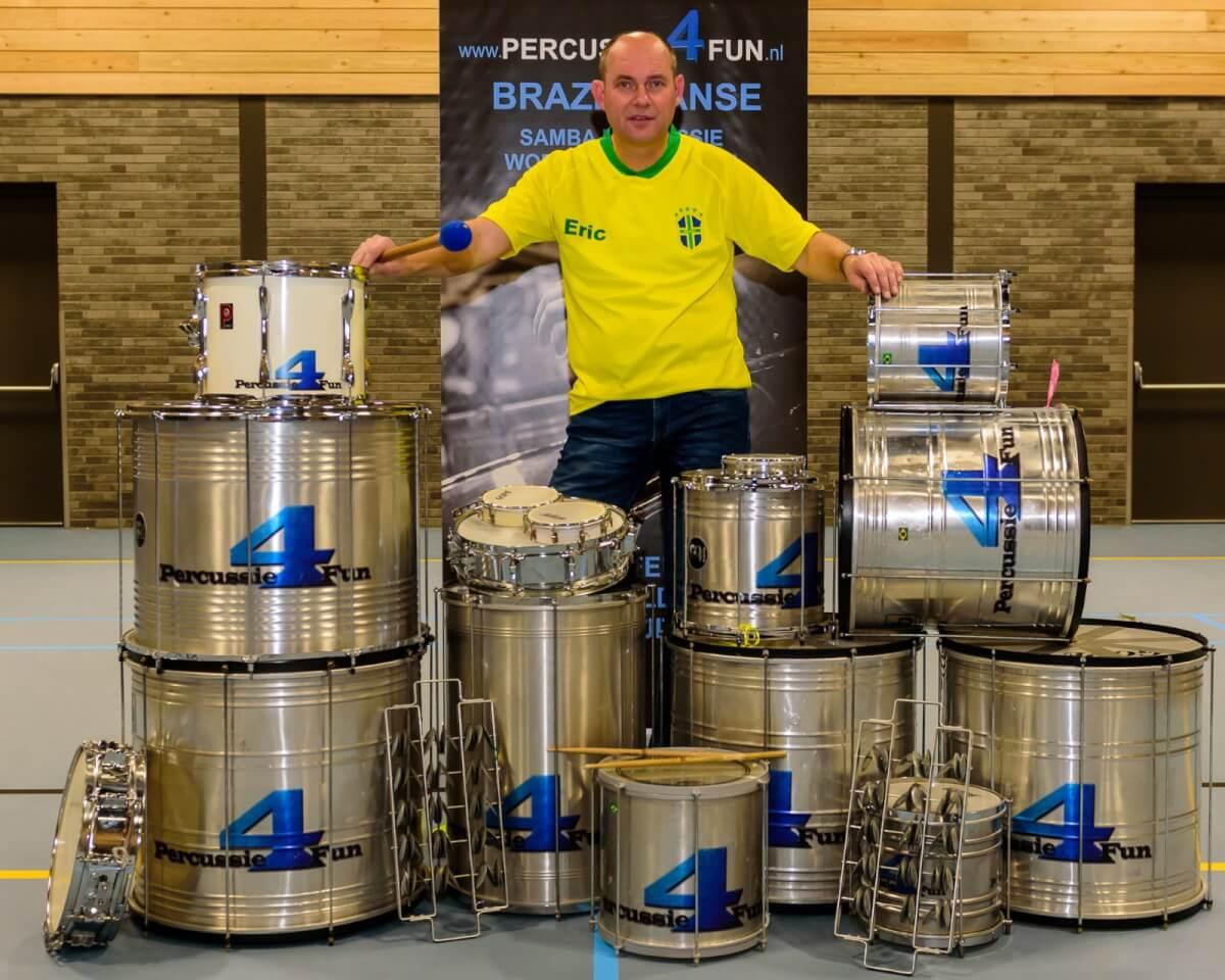 Maak kennis met de Brazilaanse percussie instrumenten.