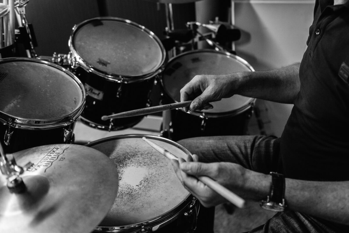 Leren Drummen op latere leeftijd